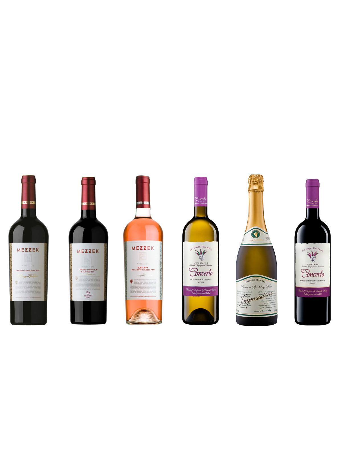 ブルガリアワインおすすめ6本セット