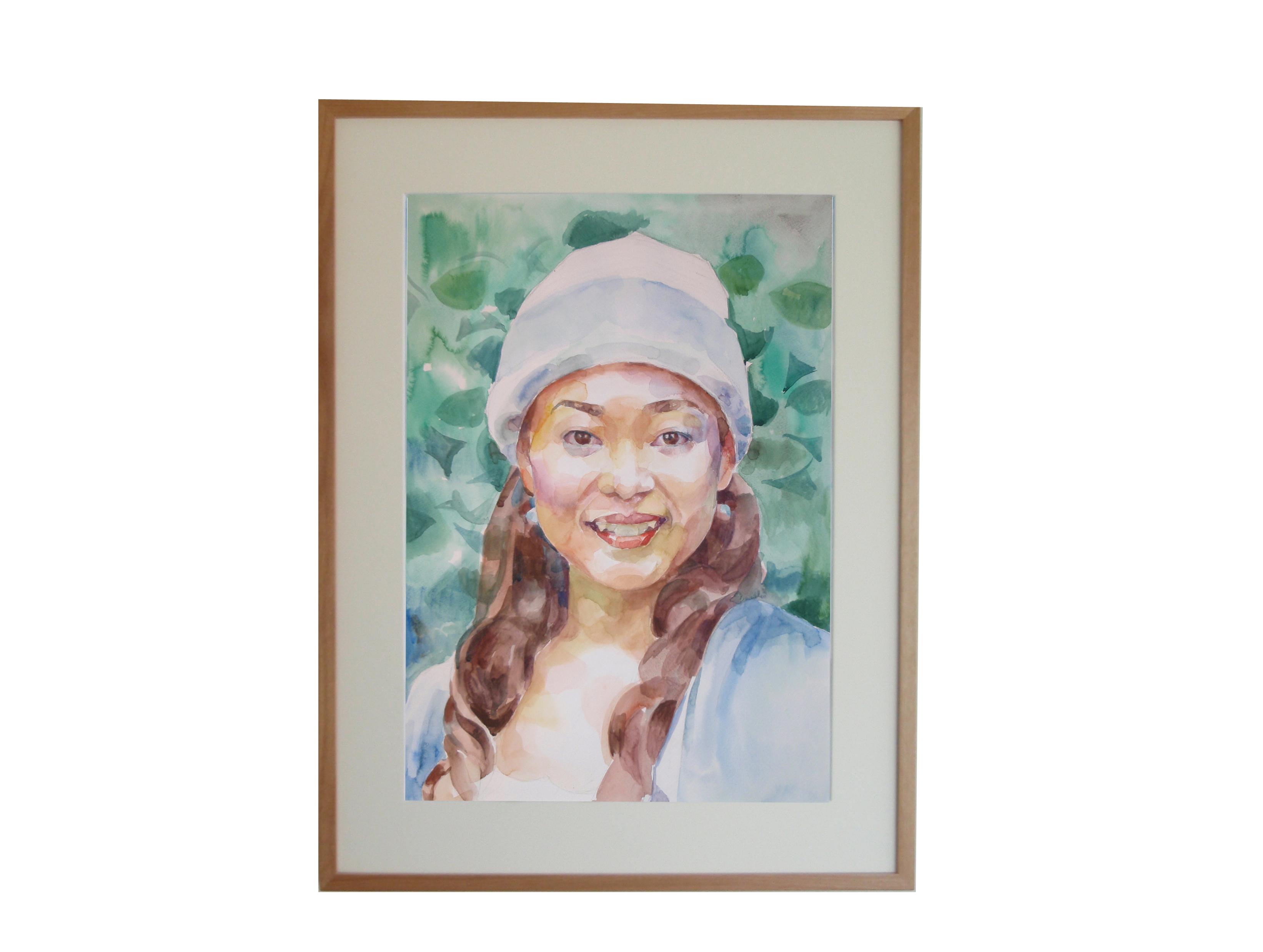 インテリア肖像画