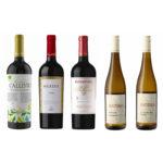 ブルガリア&ドイツ赤白ワイン5本セット